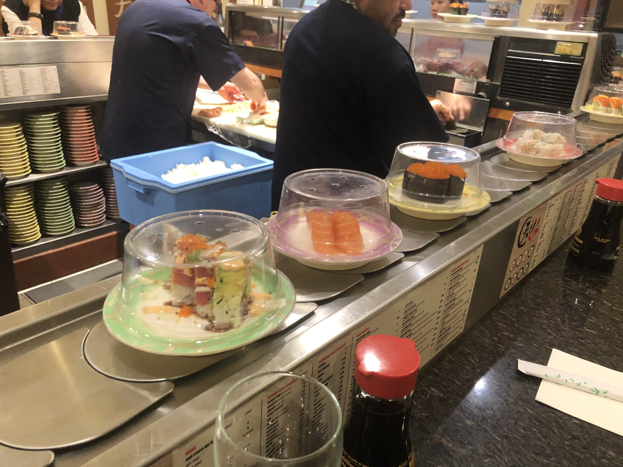 サンフランシスコ、ジャパンタウンにて、変り種のお寿司を食べよう。天禄寿司さんのご紹介。